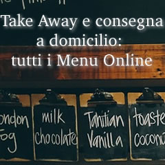 tutti i menu dei take away online